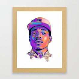 CHANCE: NEXTGEN RAPPERS Framed Art Print