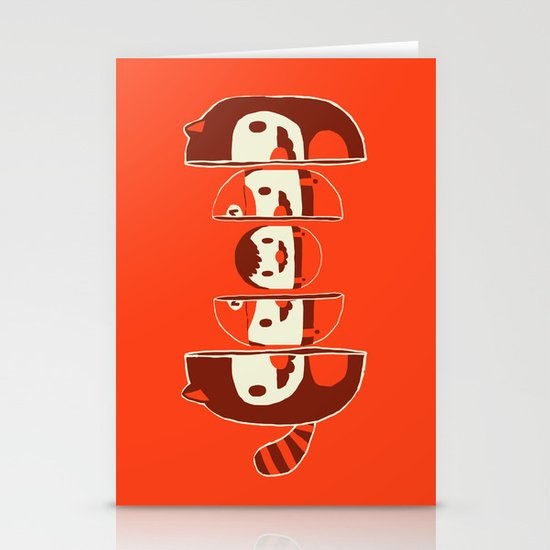 Mario-shka Stationery Cards
