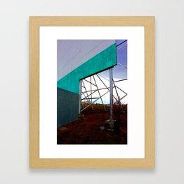Screen Framed Art Print