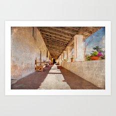 Carmel monastery Art Print