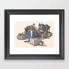 Collection of Curiosities Framed Art Print