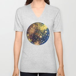 Callisto Moon of Jupiter Unisex V-Neck