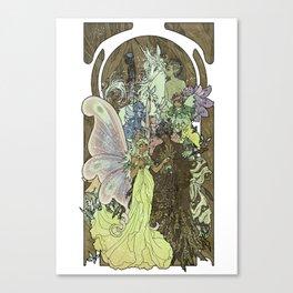 Fairy Court Canvas Print