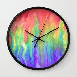 Bubblegum Icecream Wall Clock