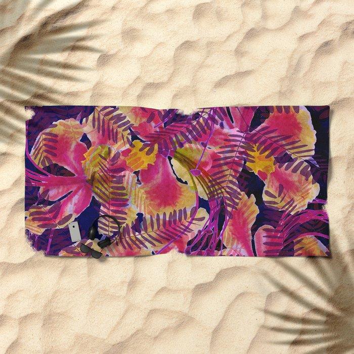 Tropical Punch Beach Towel