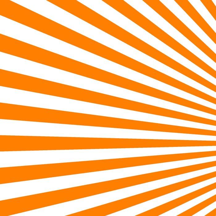 Starburst (Orange/White) Leggings