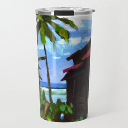 Tiririca Beach Shacks Travel Mug
