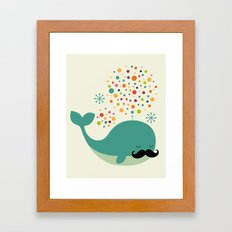 Firewhale Framed Art Print