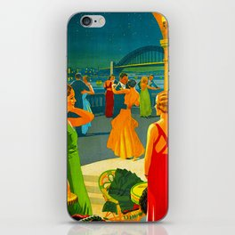 Vintage Sydney Australia Travel iPhone Skin