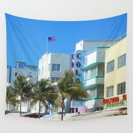 Miami Welcome Wall Tapestry