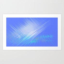 Pyramid of Light Art Print