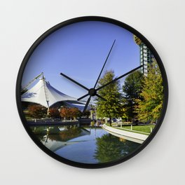 Sunsphere in the Fall Wall Clock