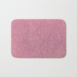 Motel Pink Shag Pile Carpet Bath Mat