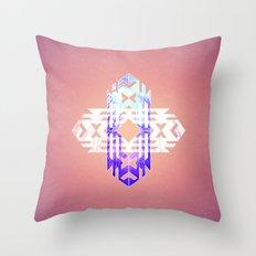 Aztec Track Throw Pillow