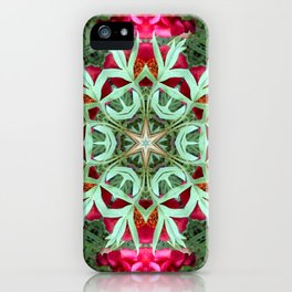 Peony Rose Florii iPhone Case