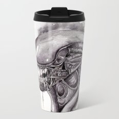 Alien Metal Travel Mug