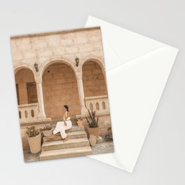 On the Steps Stationery Cards