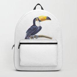 Toucan, tropical bird Backpack