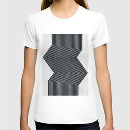 Abstract and minimalist art T-shirt