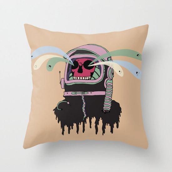 Dead Space: The Spirits Escape Throw Pillow