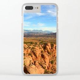 Utah wilderness Clear iPhone Case