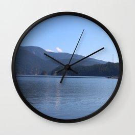 Deep Cove Wall Clock