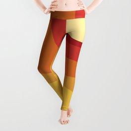 Geometric Shapes // Sunshine Leggings