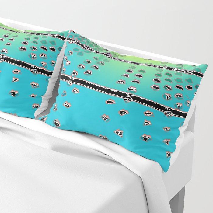 Cold Steel Pillow Sham