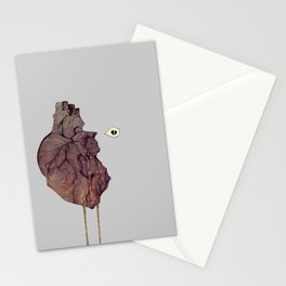 This is not a colorful heart Stationery Cards