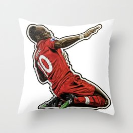 Sadio Throw Pillow