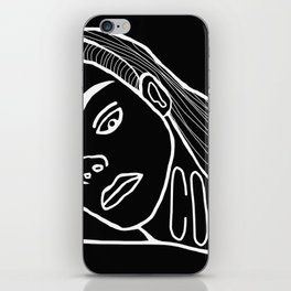 She's a Cool Girl iPhone Skin