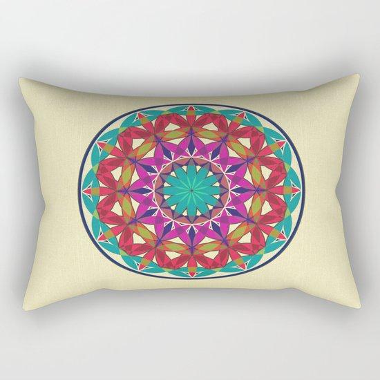 Flower of Life variation 2 Rectangular Pillow