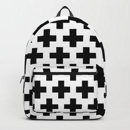 Swiss Cross B&W Backpack