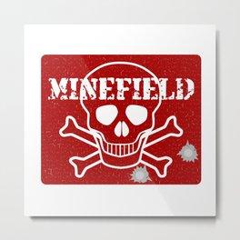 Minefield Metal Print