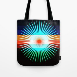 Sunset Bit Tote Bag