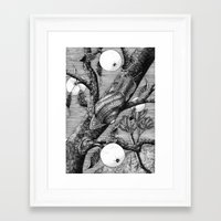 snail Framed Art Prints featuring Snail by ahatom