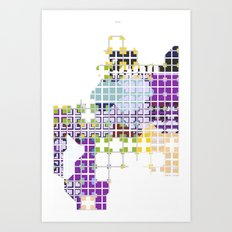 Spread Art Print