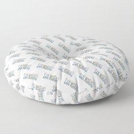 Made In San Marino Floor Pillow
