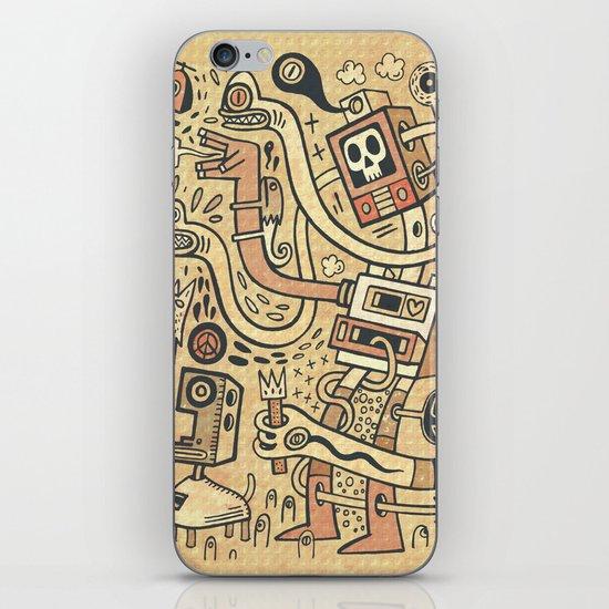 Arbracosmos iPhone & iPod Skin