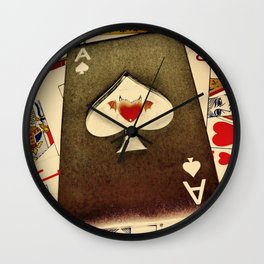The Devil's Spade Wall Clock