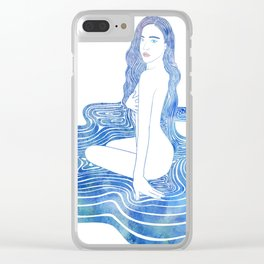 Water Nymph CII Clear iPhone Case