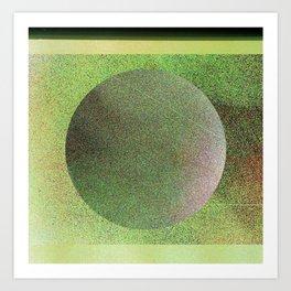 Planetary Fuzz Art Print