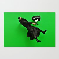 matrix Canvas Prints featuring Matrix by Beastie Toyz