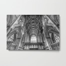 York Minster Cathedral Metal Print