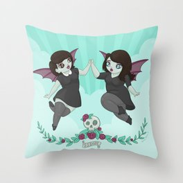 My Favorite Murder: Sweet Baby Angels Throw Pillow