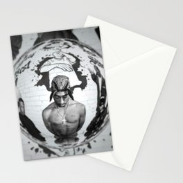 2 Pac Sakur Makaveli Stationery Cards