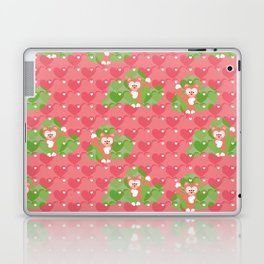 Foxes in the Strawberry patch Laptop & iPad Skin