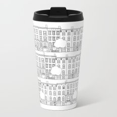 blocks of Brooklyn Metal Travel Mug