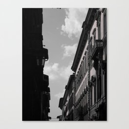 Sun bathing Stucco - Florence, Italy Canvas Print