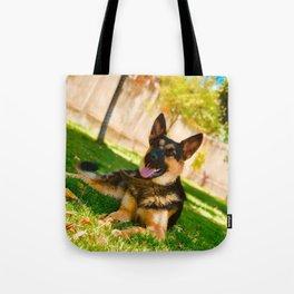 Dog by Ariph Sakinoy Tote Bag